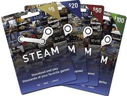 Sell Steam Gift Cards