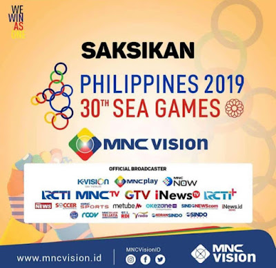 mnc vision liga eropa 2020 sea games Filipina 2019
