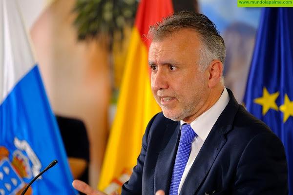 El presidente de Canarias convoca para el lunes el Consejo de Gobierno que abordará el decreto ley sobre medidas sanitarias contra la COVID-19 y las ayudas del incendio de El Paso y Los Llanos
