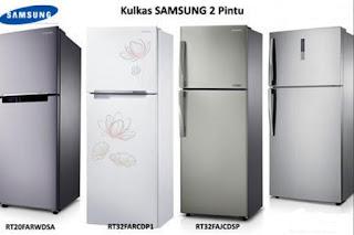 Daftar Harga Kulkas Lemari Es Samsung 2 dan 1 Pintu Terbaru