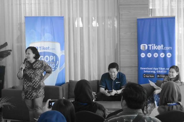 Carolina Ratri, Gaery Undarsa, Nuniek Tirta Sari #NgopiBarengTiket Jogja Complete Guide To Blog Monetizing