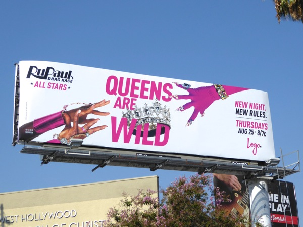 RuPauls Drag Race All Stars season 2 billboard