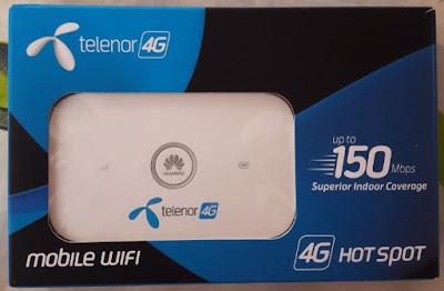 Telenor 4G Huawei E5573Cs-609 Device 21 327 62 00 1460 Unlock 1000