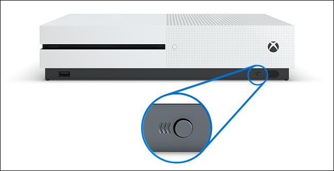 زر الاقتران Xbox One S