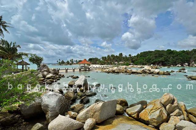 Pantai Parai Tenggiri Beach Pulau Bangka Belitung