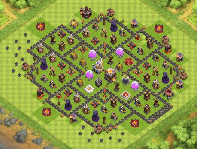 Base Town Hall 11 Clash of Clans Farming