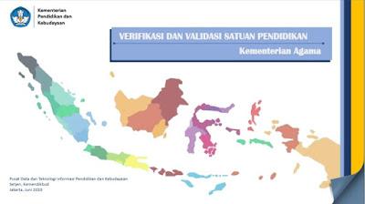 Verifikasi dan Validasi Satuan Pendidikan Kementerian Agama