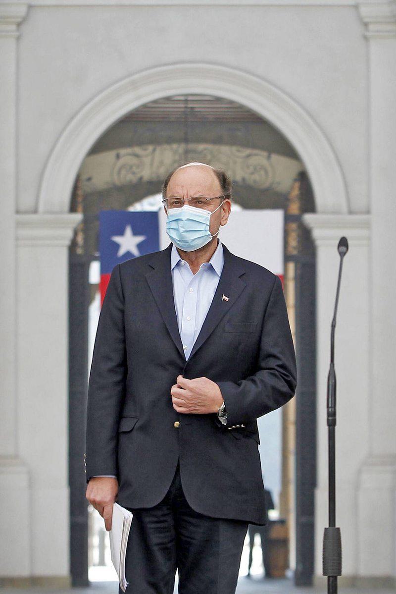 Ministro Alfredo Moreno se contagió