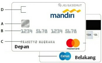 kode cvv cvc kartu kredit mandiri
