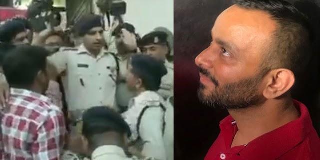 कौन है अश्विन शर्मा जिसके लिए पुलिस भेजी गई थी | BHOPAL NEWS