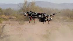 Quân đội Hoa Kỳ thử nghiệm Drone đánh chặn chống máy bay không người lái tại căn cứ Yuma Proving Ground