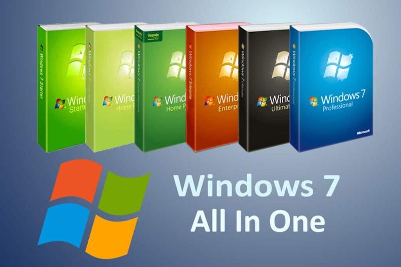 Windows 7 All In One ISO 2019 Latest Version 32-Bit & 64-Bit Free Download || Windows 7 AIO (All in One) (x86 & x64) 2019 Download