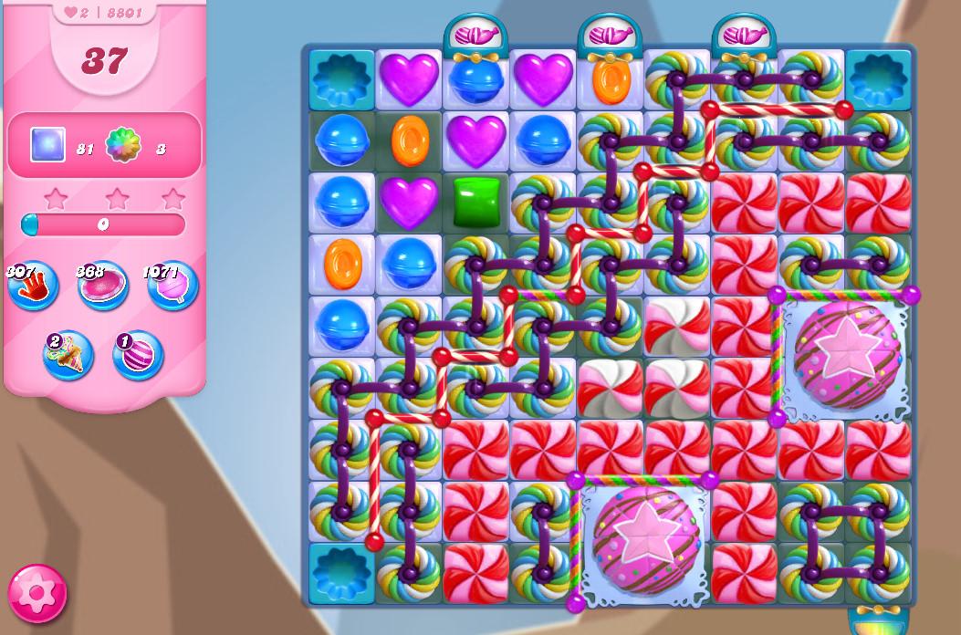 Candy Crush Saga level 8801