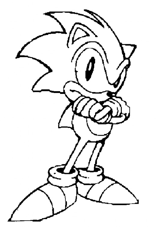 Super Sonic Coloring Pages To Print [+] 99 DEGREE