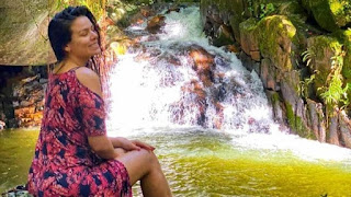 الراقصة لورديانا تقضي إجازتها في البرازيل