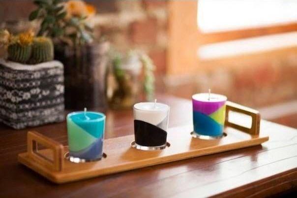 Cara Membuat Kerajinan Tangan Unik Lilin Warna