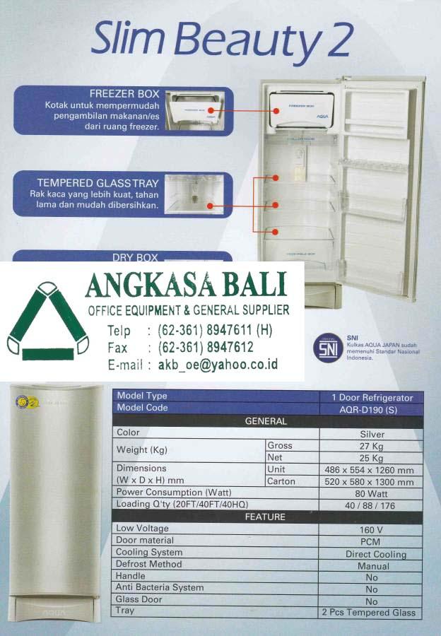 Angkasa Bali Jual Kulkas Aqua Sanyo Di Bali Denpasar Di