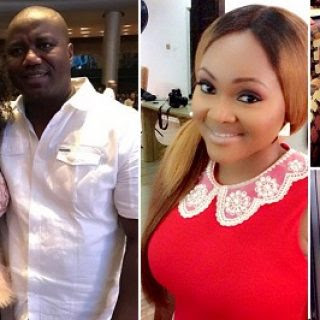 mercy aigbe movie set