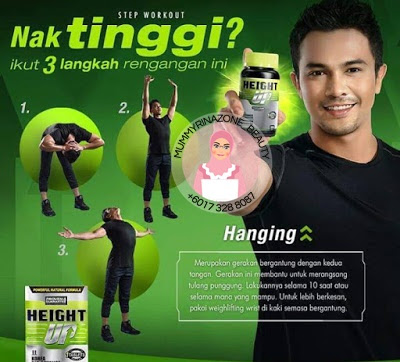 PROMOSI HEIGHT UP SUPPLIMENT TINGGI