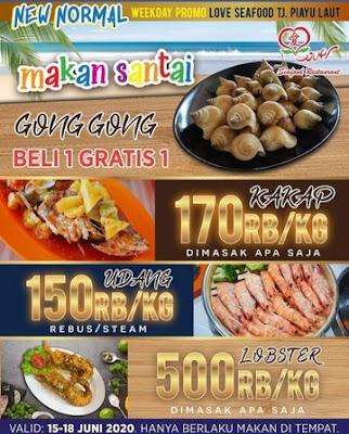 daftar harga love seafood Batam