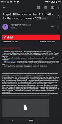 airtel call history
