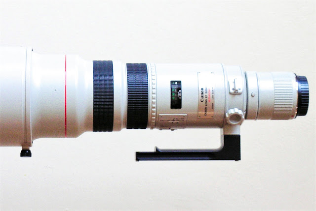 Canon EF 500 mm L USM with Hejnar H126 Replacement Foot