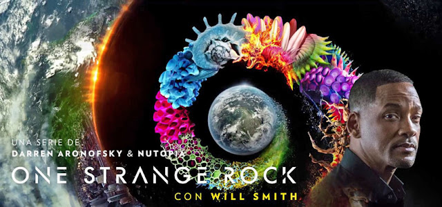 Reseña de One Strange Rock (Nuestro Planeta) conducido por Will Smith