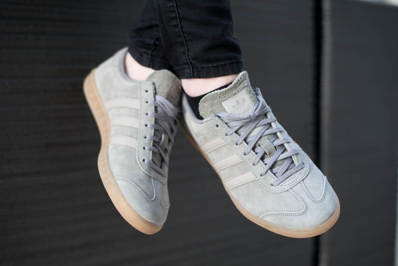 Adidas Hamburg Trainers Clear Granite
