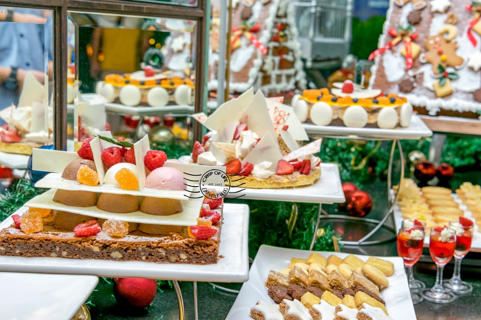 Christmas and New Year Buffet Celebration @ Sarkies, Eastern & Oriental Hotel