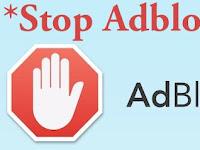 Cara Memasang Script Anti Adblock Untuk Blogger - Adblock UC Browser