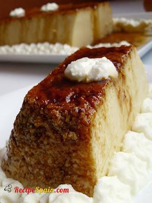Delicious quesillo (canarian style flan)
