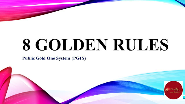 (PG1S) 8 Golden Rules