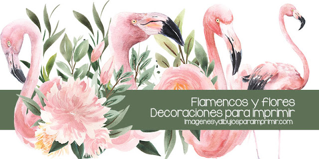flamencos para imprimir