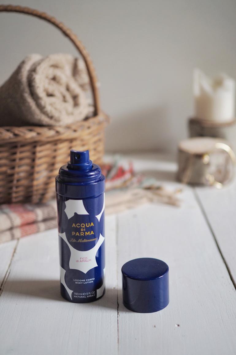 Lotion hydratante pour le corps de la marque Acqua Di Parma