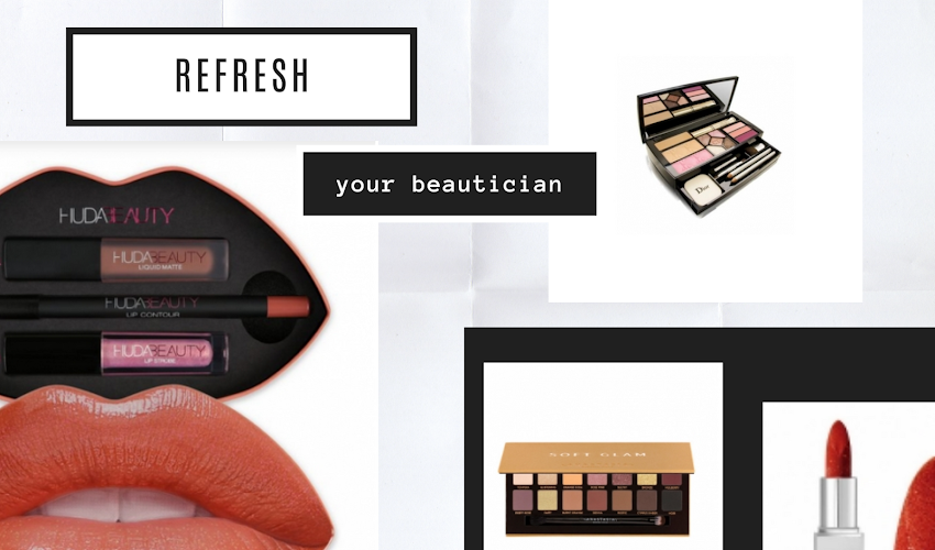 Refresh your cosmetics in beautician!