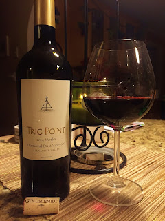 2014 Trig Point Winery Diamond Dust Merlot