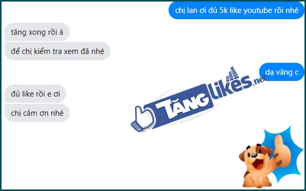 dich vu tang like youtube