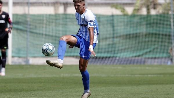 """Mati - Málaga -: """"Mi objetivo es debutar con el primer equipo"""""""