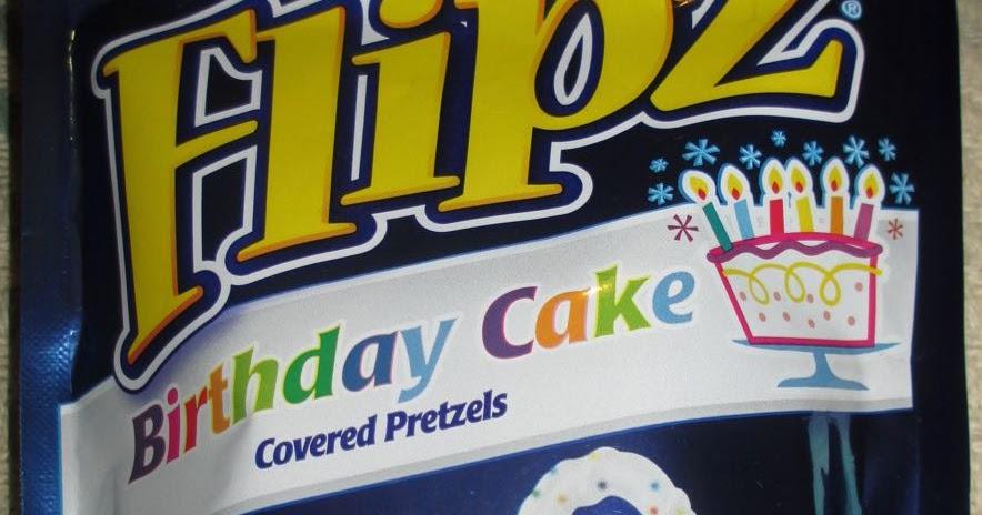 Foodstuff Finds Flipz Birthday Cake Covered Pretzels