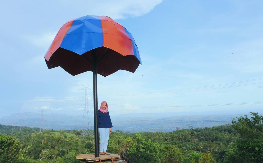 Lokasi Gunung Mungker Dlingo Bantul