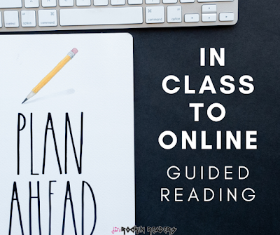 Are you having to do online learning?  Online guided reading could possibly be one of the most difficult parts of teaching online there is.  Check out some websites and tips to help you plan for online guided reading!