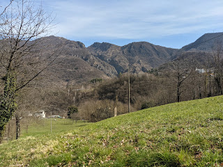 Field near Ripa (Poscante) below Canto Basso.