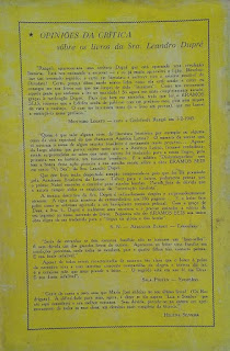 Éramos seis!. Sra. Leandro Dupré. Edição Saraiva (São Paulo-SP). 1957-1964 (10ª e 11ª edição). Contracapa.