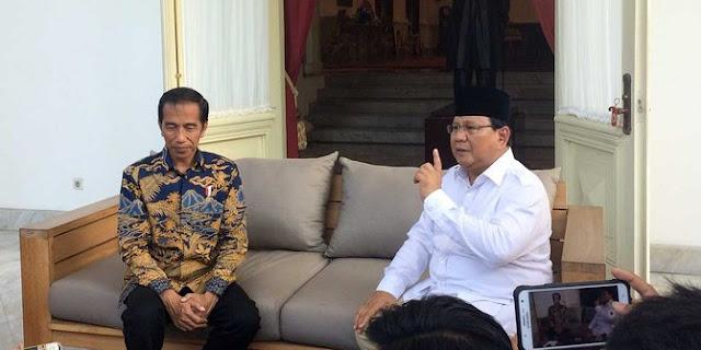 Duel Jokowi vs Prabowo diprediksi kembali terulang di 2019