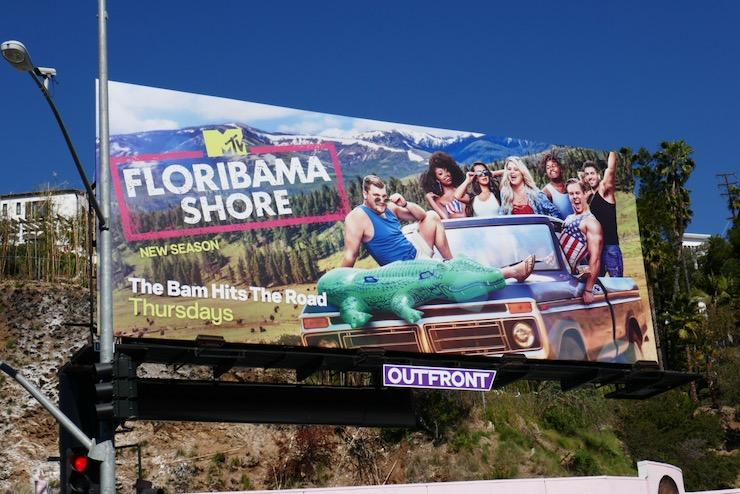 Floribama Shore hits the road billboard