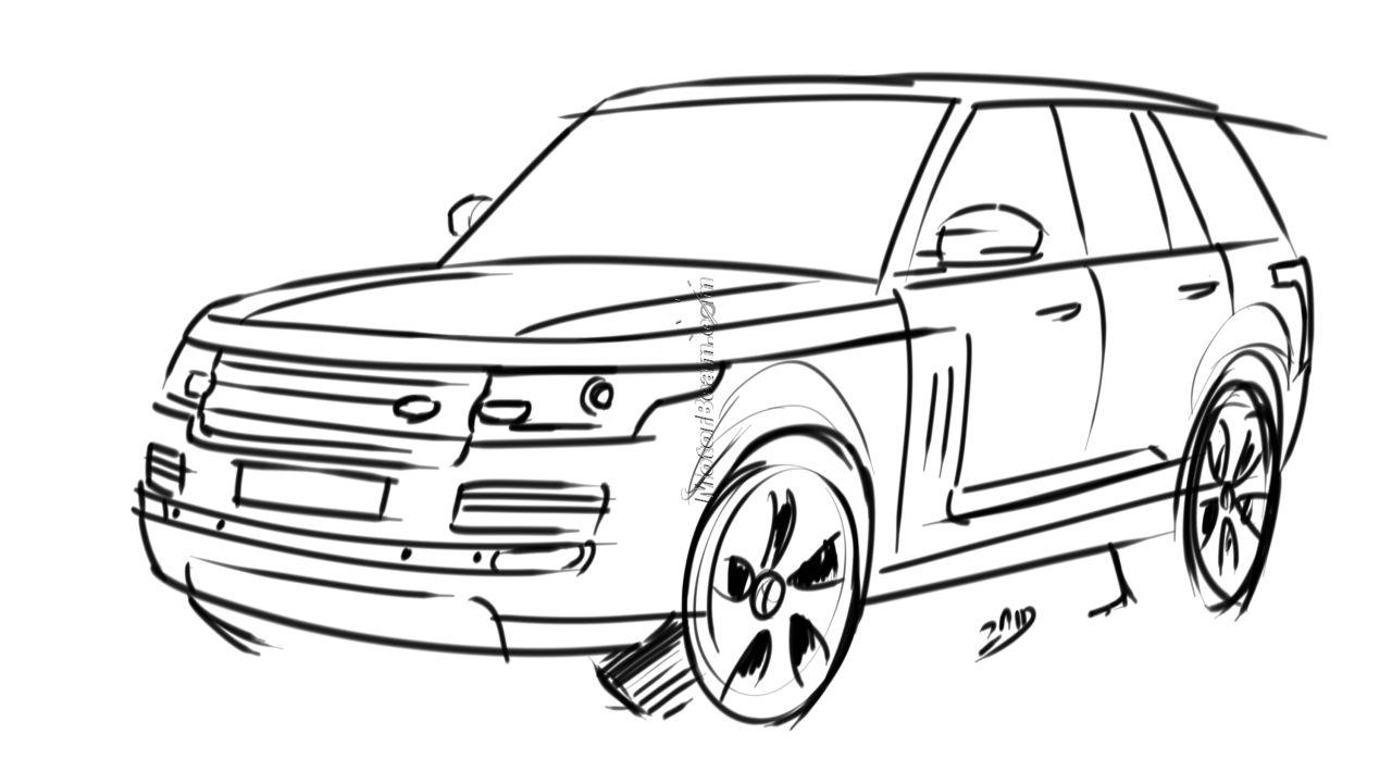 Garage Car: 2013 2014 Range Rover Renderings (1280 x 709 Pixel)