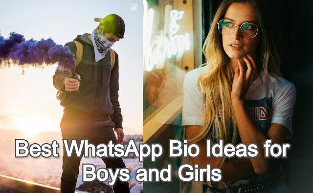 Best WhatsApp Bio Ideas for Boys and Girls – 2020