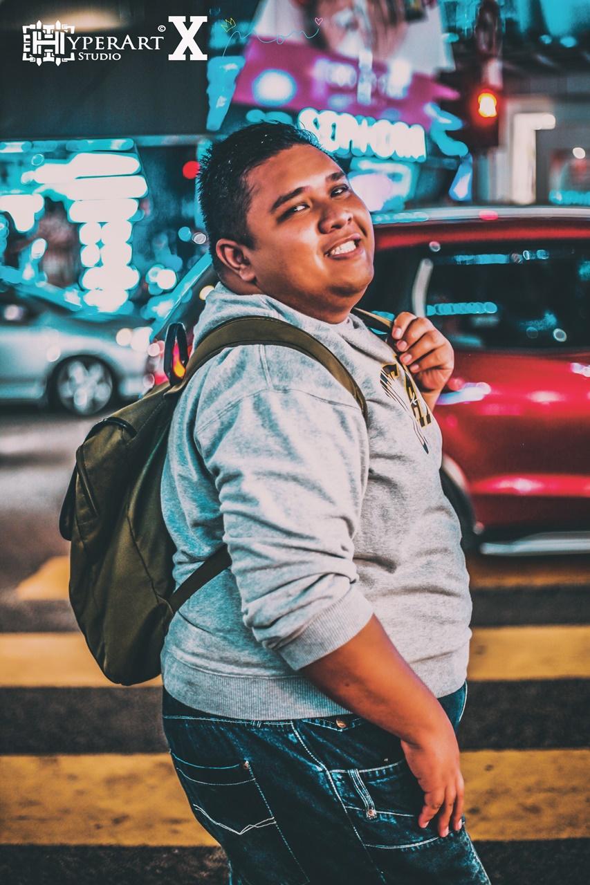 Photoshoot Dekat Jalan Bukit Bintang Versi Malam