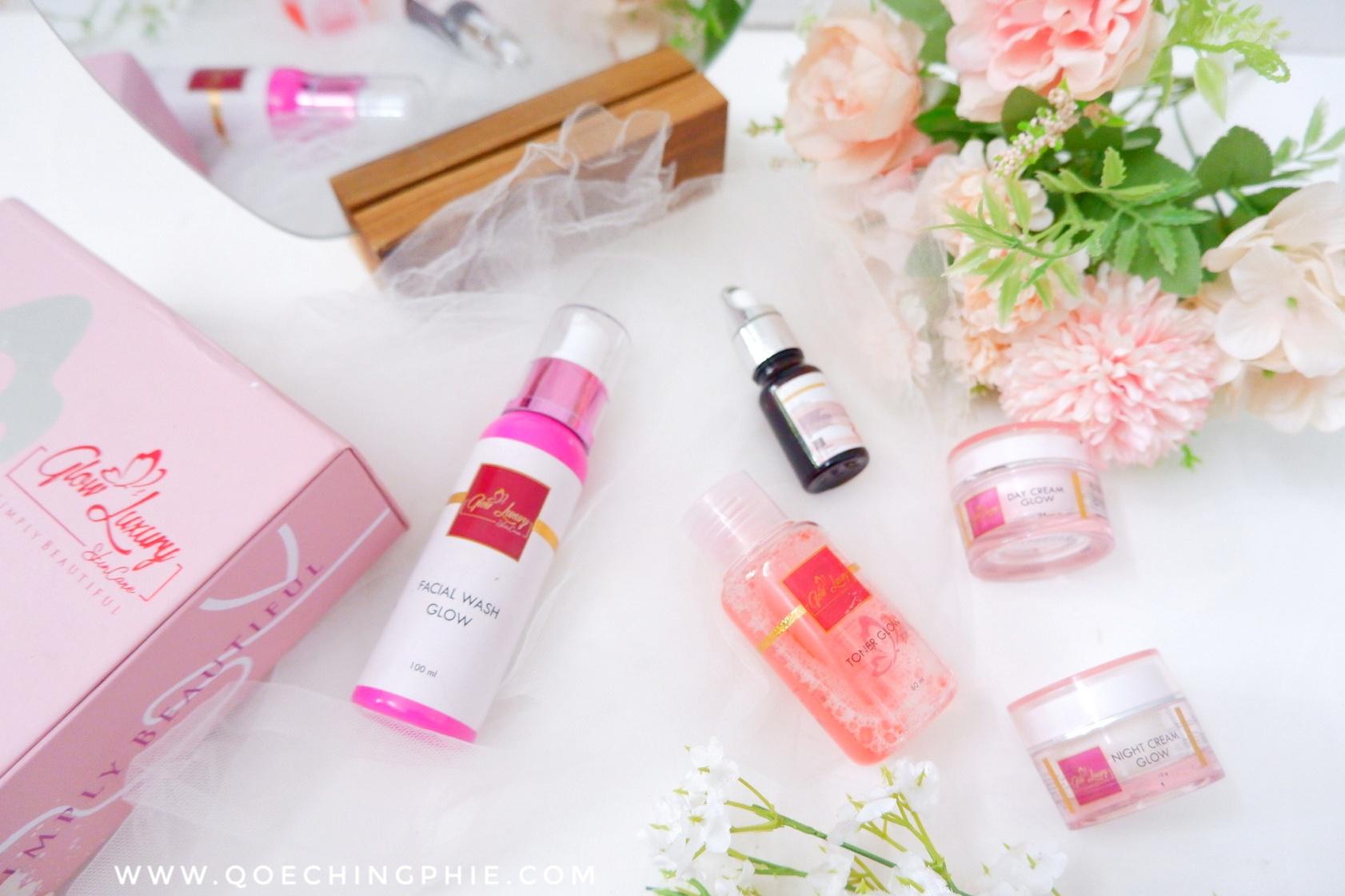 Review Jujur ! Glow Luxury Skincare, skincare aman BPOM yang aman untuk ibu hamil dan Menyusui