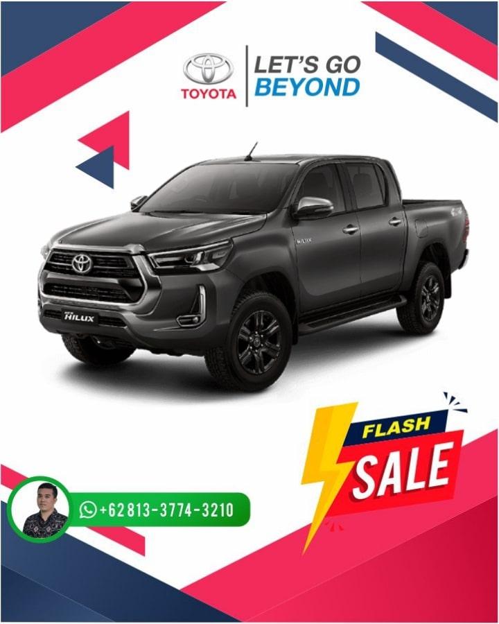Harga Promo Toyota Hilux Double Cabin Bali